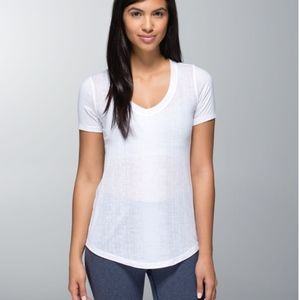 Lululemon Salutation To Savasana Burnout V Neck